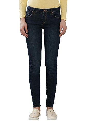 ESPRIT Damen Jeanshose Blau (Blue Dark Wash 901)