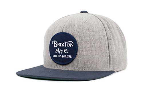 Brixton Unisex Headwear Wheeler Snbk light heather grey/Navy