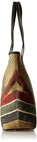 Gattinoni Gacpu0020000, Borsa a Spalla Donna, 13.5 x 31 x 35 cm (W x H x L) Multicolore (Classico)