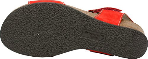 White Mountain Haines Cuir Talons Compensés red