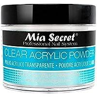 Mia Secret acrílico Nail Art polvo, 60 ml, transparente