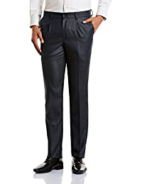 Excalibur by Unlimited Men's Formal Trousers (8907542676804_400016617146_34_Navy)