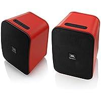 Enceintes JBL Control X Wireless Rouges (Paire)