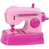 STOBOK Máquina de Coser Juguete Aparatos Bebé Casa Juego en Miniatura con Sonido Mini Juego de