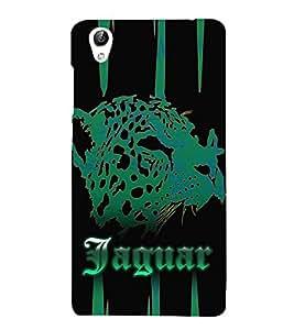 Jaquar Cheeta Art 3D Hard Polycarbonate Designer Back Case Cover for VIVO Y51L :: Y 51L