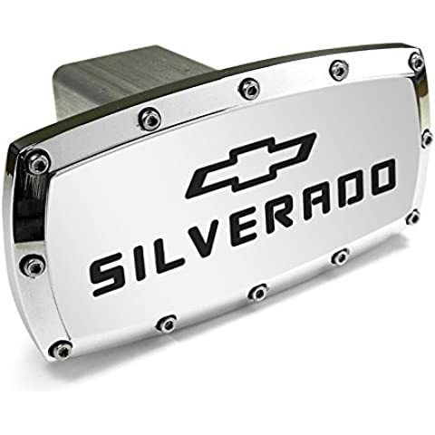 Chevrolet Silverado Billet Aluminum Tow Hitch Cover by Chevrolet CarBeyondStore