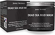 Jadole Naturals Dead Sea Mud Mask For Face, Acne, Blackheads Best Facial Pore Minimizer, Reducer & Pores C