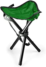 LUMONY Tripod Stool for Camping & Travelling, Portable & Foldable (Color May Vary)