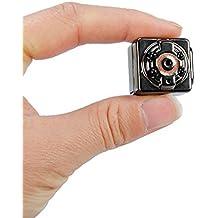 SanSiDo mini caméra Full HD 1080P Video Recorder, Pocket Digital Caméra sport,portatif DV DC, Caméscope vision nocturne, Ultra-Mini DV support de détection de mouvement, espion Caméra, Caméra Vidéo Numérique cachée, Enregistreur vocal Portable mini caméra, DV enregistreur de nuit, le plus petit mini DV, Webcam, SpyCam, caméra voiture, Camcorder