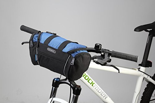 Tofern 2in1 Fahrrad Radfahren Lenkertasche Lenker Beutel Lagerung Tasche Camping Umhängetasche Fahrradkorb - 13L Blau