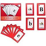 Prism Edutives Rummage An Alphabet Card Game (Red)