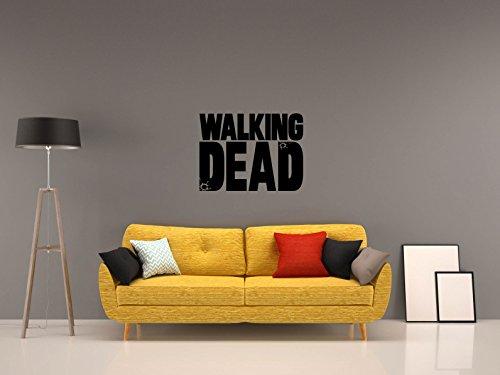 Preisvergleich Produktbild THE WALKING DEAD - LOGO - Schwarz - ca. 40 x 30 cm