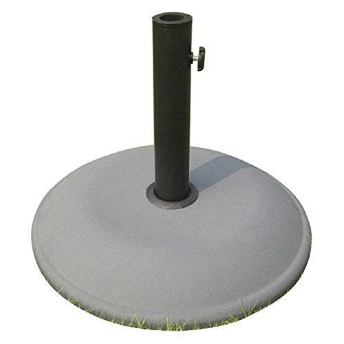 Papillon 8091075 - Base sombrilla cemento, 26 kg/ 500 mm