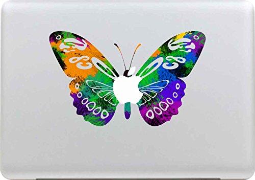 Macbook Aufkleber, Stillshine Super dünn (0,07 mm) Removable Bunte Muster Fashion Macbook Sticker Aufkleber Skin Laptop Vinyl Decal Sticker Abziehbild Abziehbilder (Pattern 12) (Mac Skin Laptop)