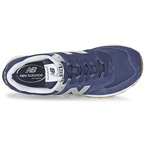 New Balance NBML574MON Sneaker, Uomo Blu scuro