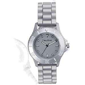 New Wave - Montre silicone - Gris