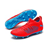 PUMA Future 19.3 Netfit FG/AG, Scarpe da Calcio Uomo, Rosso (Red Blast-Bleu Azur), 46 EU