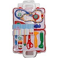 The Toy Company Beauty Club 5600302 Hello Doc - Maleta de médico de juguete con 12