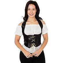 Velvet - Disfraz de pirata para mujer, talla única (AC631)