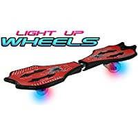Zoom Stik® Caster Board - Light Up Wheels! - #1 Rated Skateboarding Sport