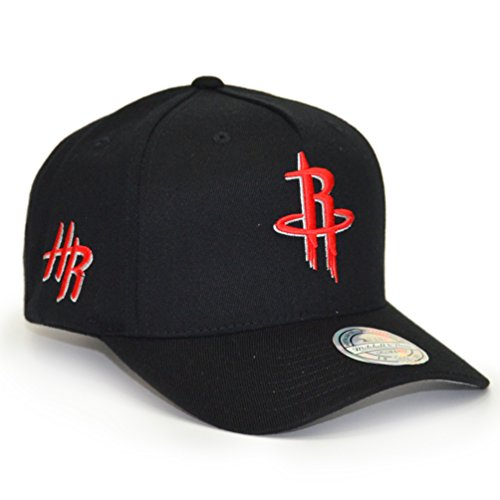 Mitchell & Ness Herren Snapback Caps NBA Eazy 110 Curved Houston Rockets schwarz...
