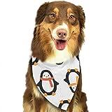 Hipiyoled Weihnachtspinguin im Schal-Muster stilvolle Nette lustige Party-Mädchen-Jungen-Hundebandana modern