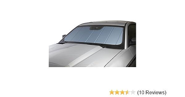 Blue Metallic Series Heat Shield Custom Fit Windshield Sunshade for Select Honda Civic Models Laminate Material Covercraft UVS100