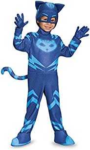Disguise Catboy Deluxe Toddler PJ Masks Costume Large/4-6 17159L