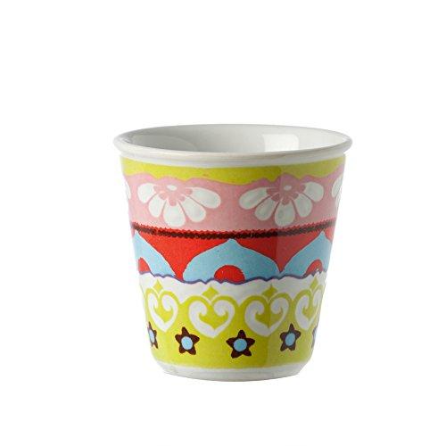 Rose e Tulipani Nador Mur Chaser r1330037 VE Café ou Liqueur Lot de 6 Vert