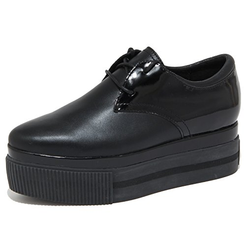 6817N scarpa zeppa ASH KATIA BIS nero scarpe donna shoes women [40]