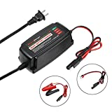 12V 5A Smart Battery Charger Microcomputer Control Automatic Lead Acid AGM Gel Wet