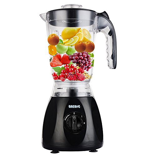 Haehne-HN-3366-2-IN-1-Nutrition-Fruit-Blender-15L-350W-Plastic-Jug-with-Mill-Grinder-Multi-Food-Soup-Making