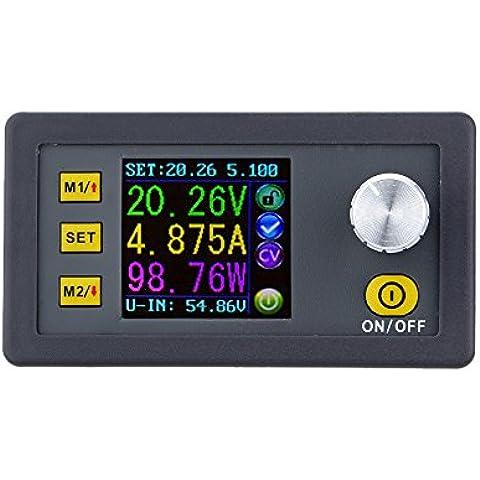 KKmoon Step-down Modulo di Alimentazione Tensione Current Costante, LCD Display 0-50.00V/0-5.000A - Modulo Di Ingresso Di Alimentazione