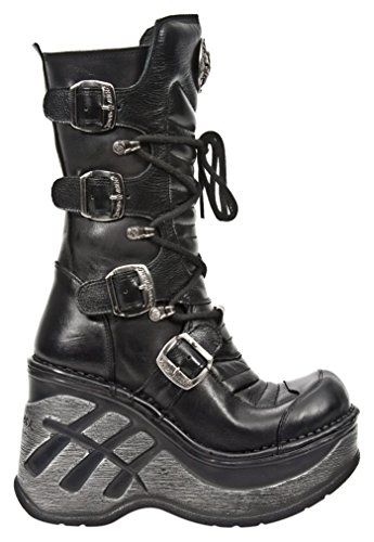 New Rock - M Sp9873 S1, Stivali Donna Nero (Black (nero))