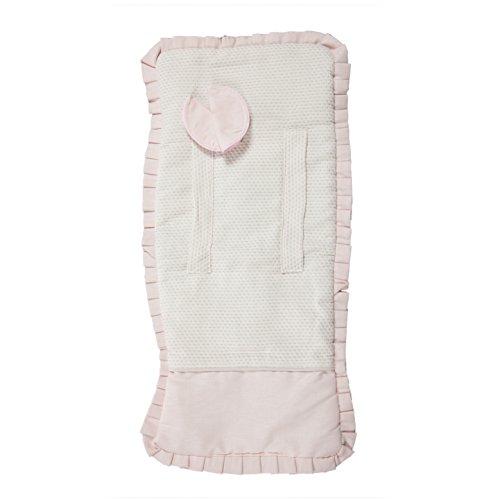 Babyline Destellos - Colchoneta ligera para silla de paseo, color rosa