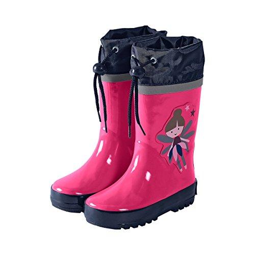 STERNTALER Gummistiefel Baby-Schuhe Kinder-Schuhe Stiefel, Größe 26, rosa