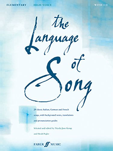 The Language of Song: Elementary - High Voice