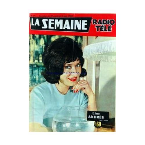 SEMAINE RADIO TELE (LA) [No 17] du 29/04/1962