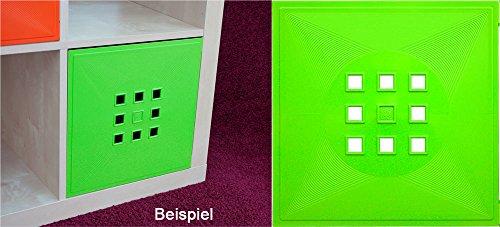 DEKAFORM Puerta para Cubo de Flexi Uso IKEA Estantería Expedit + Kallax con nörnäs, XXXL * Verde Claro