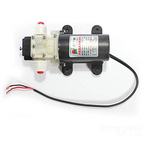 mark8shop DC 12V Membran Wasser Pumpe, 3,2l/min 25W Automatik-Schalter -