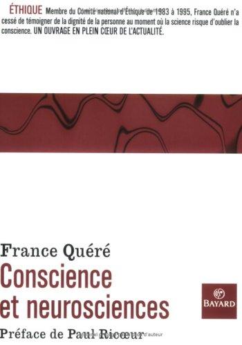 Conscience et neurosciences par France Quéré-Jaulmes