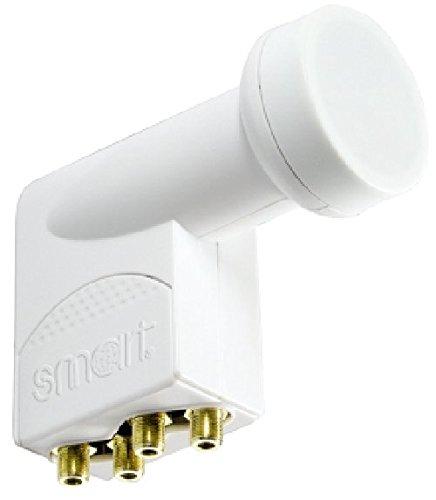 Lasermax SMART \'\'TITANIUM Gold\'\' Quattro-LNB, 0,1dB, HDTV-fähig
