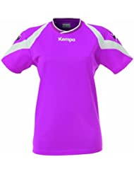 Kempa–Camiseta motion mujer, todo el año, mujer, color Varios colores - morado y blanco, tamaño XXL