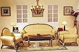 Sofá barroco Salón silla 2er 3er Vp0810 estilo antiguo