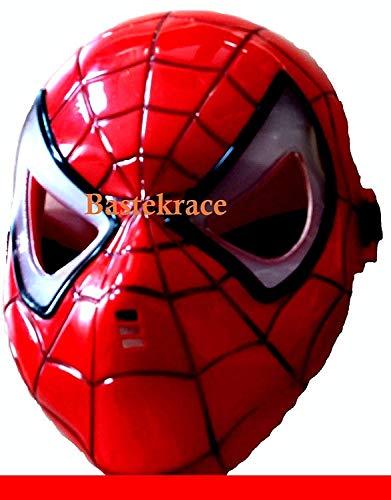 Neue Spider Man Maske mit LED Beleuchtung für Kinder (In Superhelden-masken Der Masse)