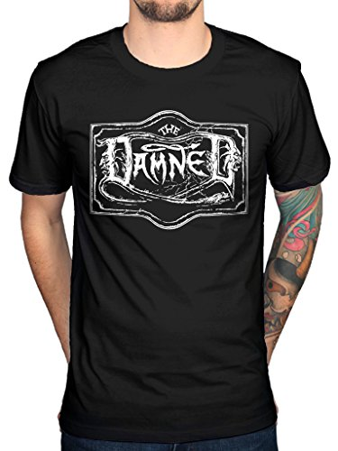 The Damned Logo Official Men's T-Shirt, S to XXL