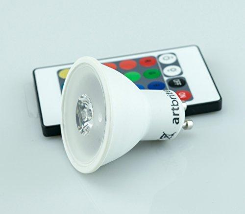 spot-led-3w-gu10-con-funzione-di-variazione-colore-16-opzioni-di-colori-rgb-il-cambio-viene-effettua