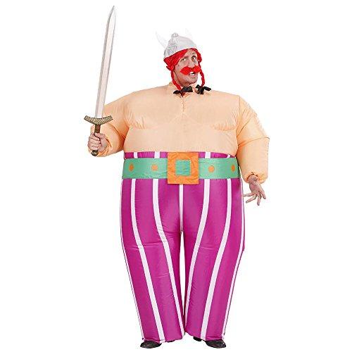 Widmann - Aufblasbares Kostüm Wikinger (Obelix Kostüm Fancy Dress)
