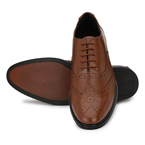 NOVA SHOES Men's Handcrafted Classic Modern ...