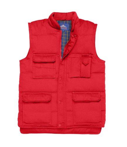 Portwest Herren Shetland Bodywarmer Rot - Rot